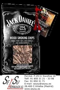 Wood Smoking Chips JCK002 Jack Daniels bolsa 1 kg