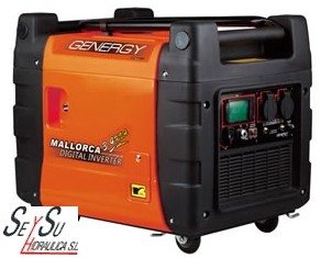Generadores Digitales Inverter 3500W Genergy Mallorca