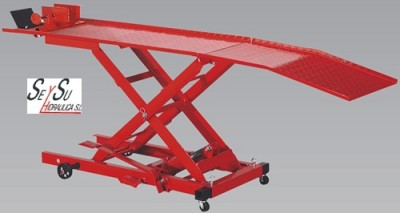 Mesa Hidraulica Elevadora Motos 365 kg Sealey MC365