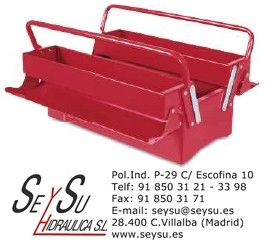 Caja de herramientas metalica 403 tayg 185007 seysu - Caja de herramientas metalica ...
