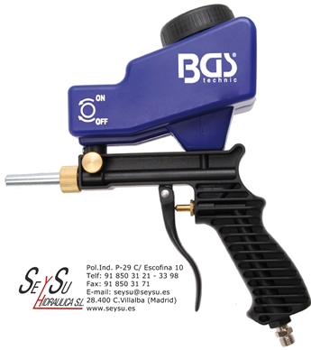 Pistola arenadora chorreadora de arena neumatica bgs 3244 for Pistola para arenar