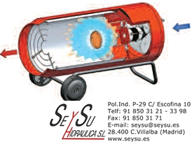 Generador movil de aire caliente de gas butano propano arg - Generador electrico a gas butano ...