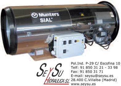 Generador para colgar de aire caliente de gas natural - Generador electrico a gas butano ...