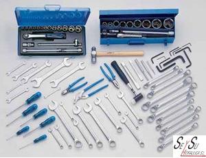 Carro de herramientas con 90 piezas para taller mecanico - Carro herramientas taller ...