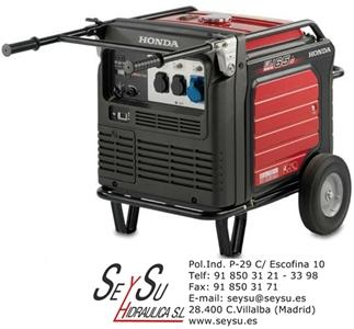 Generador inverter insonorizado honda eu65 motor gasolina for Generador arranque automatico