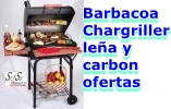 Barbacoas Metalicas Barbacoa Americanas con Tapa Chargriller para Le�a y Carbon BBQ