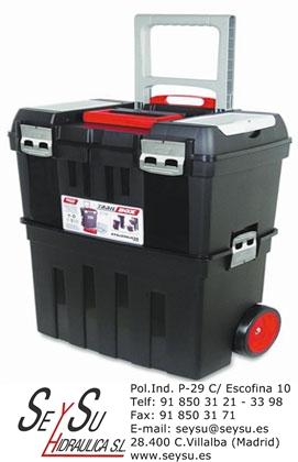 Caja de herramientas con ruedas trail box 57 tayg 157004 - Cajas para herramientas con ruedas ...